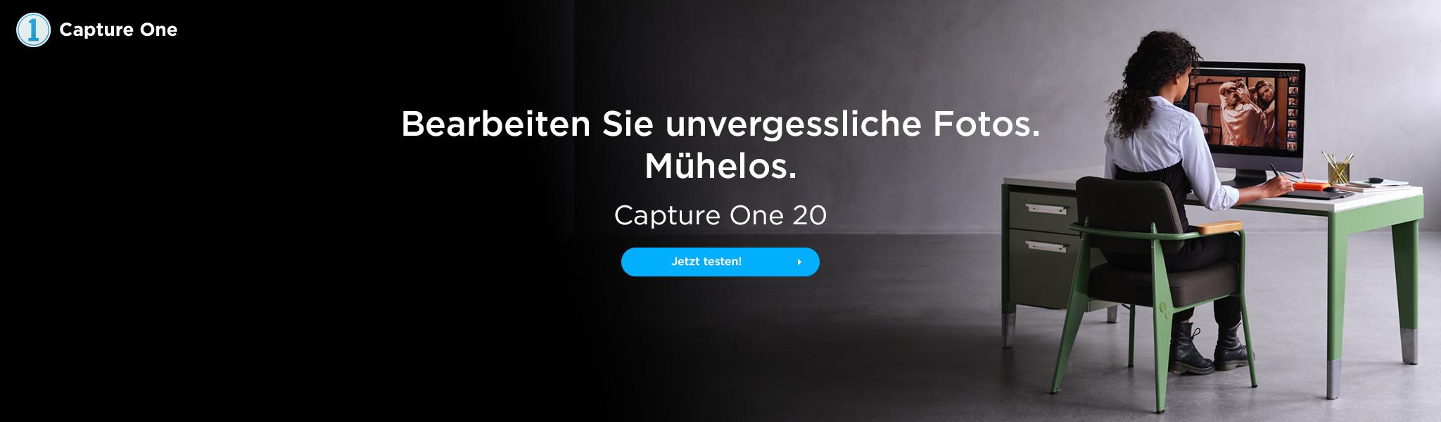 Capture One 20 Bildbearbeitung Software für die beste Fotografien