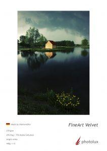 Velvet Fine Art Fotopapier